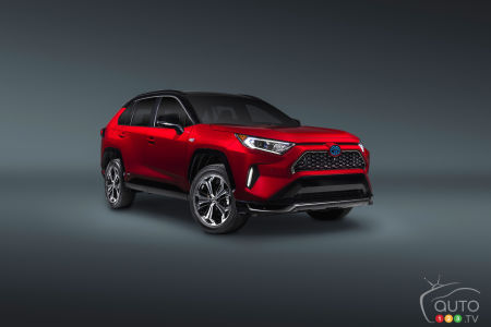 Los Angeles 2019: Introducing the 2021 Toyota RAV4 Prime PHEV